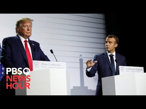 WATCH LIVE: Trump meets with French president Emmanuel Macron during NATO summit
