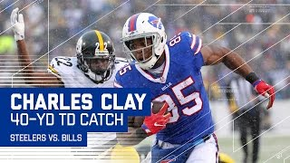 LeSean McCoy Eludes Defenders for Big Gain to Set Up Clay's Amazing TD! | NFL Week 14 Highlights
