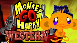 Monkey GO Happy Western Walkthrough