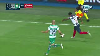 Te dejamos el Resumen del partido de los 4tos de Final de Ida Rayados vs Santos.
