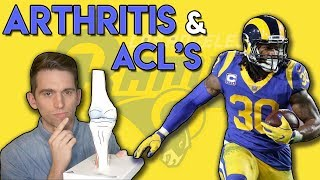 Todd Gurley Arthritis and ACL Tears   Doctor Explains the Connection