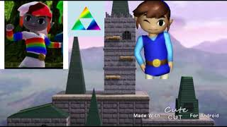 N64 Hyrule castle Super Smash Bros.