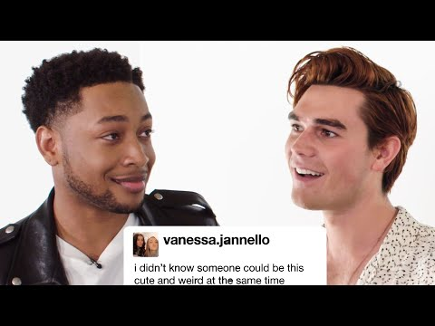 "KJ Apa and The Cast of ""The Last Summer"" Competes In A Compliment Battle  Teen Vogue"
