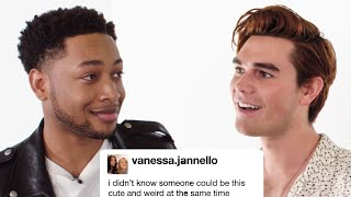 """K.J. Apa and The Cast of """"The Last Summer"""" Competes In A Compliment Battle 