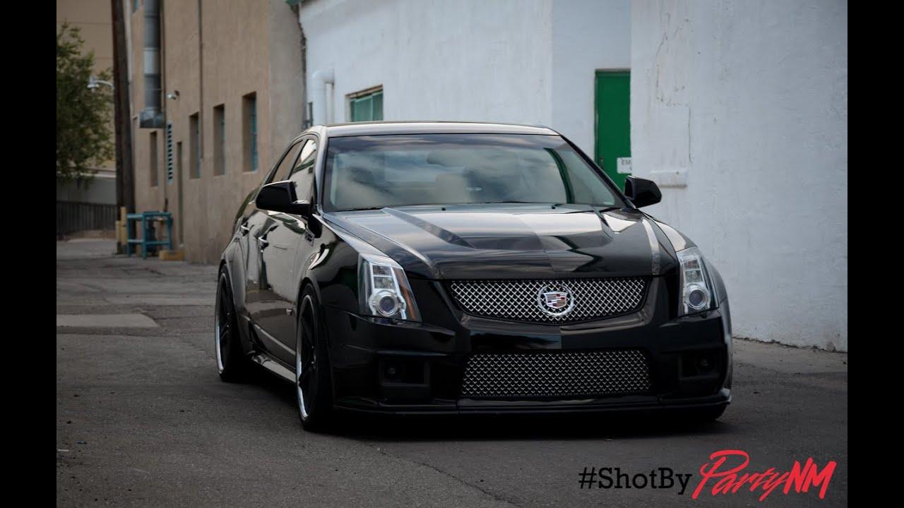2010 Cadillac Cts V Sedan Youtube