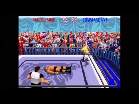 Bourbonjimbo's Classics  Powe Move Pro Wrestling Part 1