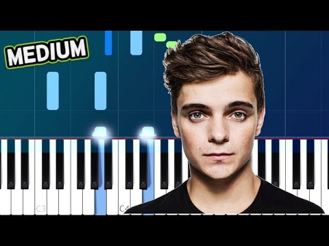"""Martin Garrix - """"High On Life""""MEDIUM Piano Tutorial - Chords - How To Play - Cover"""