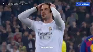 ملخص مباراة ريال مدريد وبرشلونة 2 0 جنون حفيظ دراجي كلاسيكو 2020🔥🔥 480 x 854