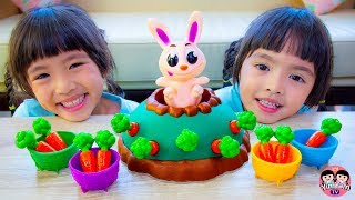 หนูยิ้มหนูแย้ม   ดึงแครอท กระต่ายเด้งดึ๋ง
