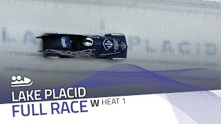 Lake Placid | BMW IBSF World Cup 2016/2017 - Women's Bobsleigh Heat 1 | IBSF Official