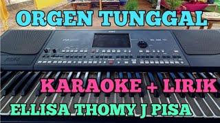 Download Mp3 ELLISA Cipt Thomy j Pisa KARAOKE
