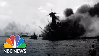 Listen To A Historic Broadcast From The Attack On Pearl Harbor | NBC News
