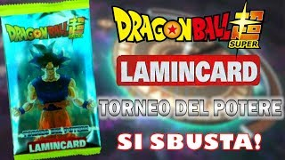 UNA NUOVA SERIE! Dragon Ball Super Lamincard Torneo del Potere