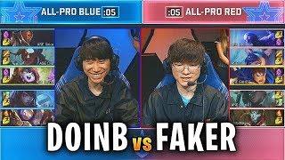 DOINB vs FAKER en la PARTIDA FINAL del ALL-STAR!!   All-Star 2019 Highlights