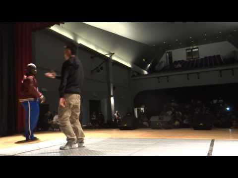 LEMZO VS CHARMANT - 1/8 FINAL POPPING - KING ON THE FLOOR 3 - BROADCOST BATTLE