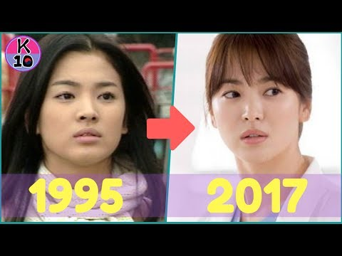 Descendants of the Sun SONG HYE KYO EVOLUTION 1995-2017
