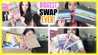 BIGGEST SWAP EVER WITH SARAHHRUSH