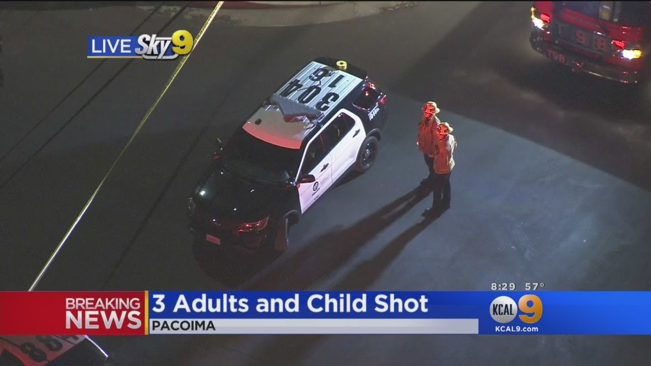 As Many As 5 Shot In Pacoima, 2 Critical