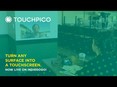 TouchPico – Android powered pico projector puts a touchscreen anywhere