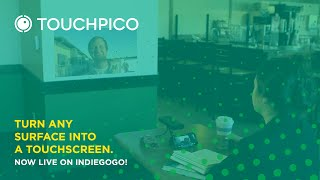 TouchPico on Indiegogo: Android PC with Projected Touch Screen