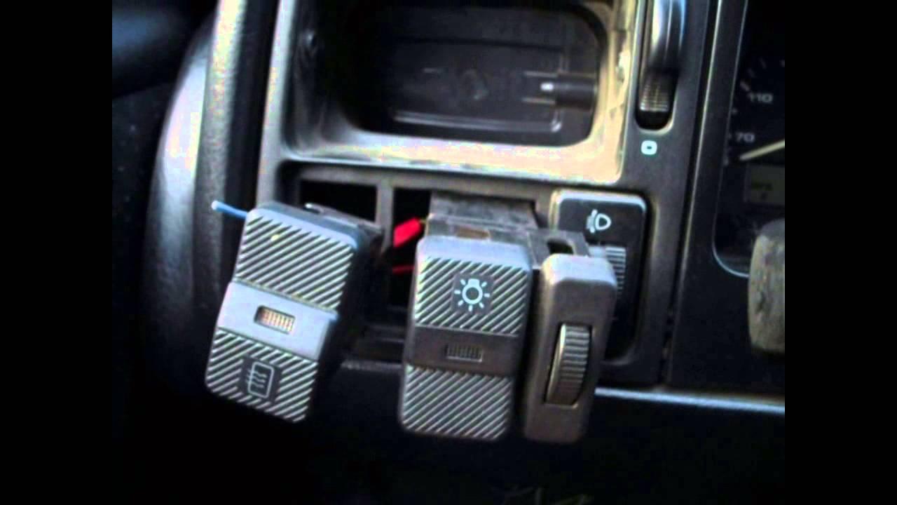 поставить противотуманки на volkswagen мотор