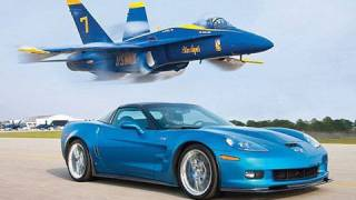 ZR1 Vette vs Jet! - Chevrolet Corvette ZR1 Races A U.S. Navy Fighter Jet(MT Editor at Large Arthur St. Antoine pits Chevy's awesome