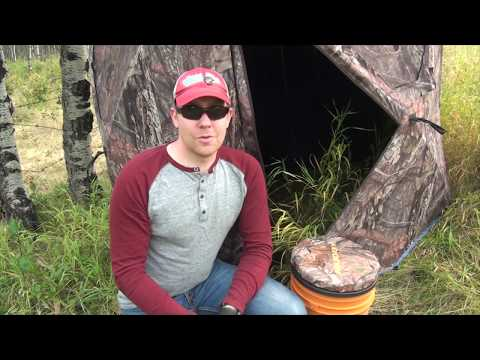 Selecting, Siting And Setting Up Ground Blinds