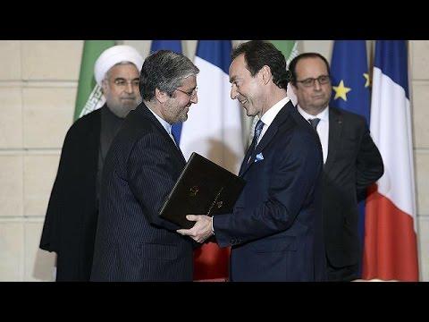 Fransa ile İran arasında devasa anlaşmalar
