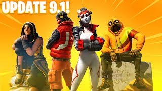ALL *NEW* Fortnite 9.10 SKINS & COSMETICS! (New Skins, Emotes, Rewards, & MORE LEAKED)