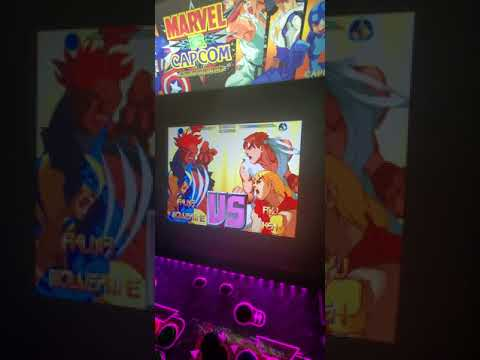 late night matches on Arcade1up cabinet marvel vs Capcom from Morty 215 ,30 Z9TPK RZ3