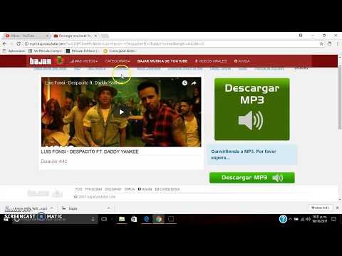 Descargar Musica Online de videos YouTube