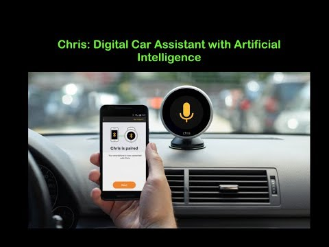 Digital Car Assistant with AI Technology