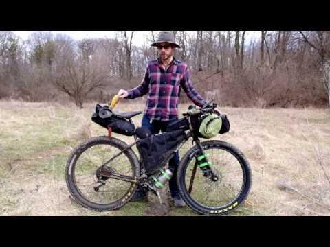 Ultralight Mountain Bike Touring Setup Bikeng Bags