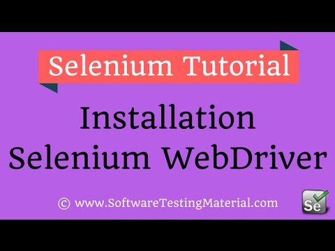 How to Download and Install Selenium WebDriver