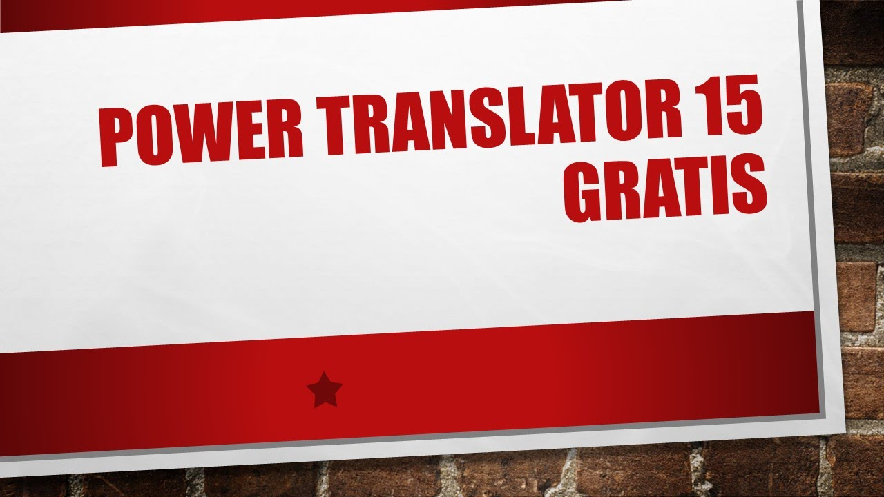 gratuitement l&h power translator pro