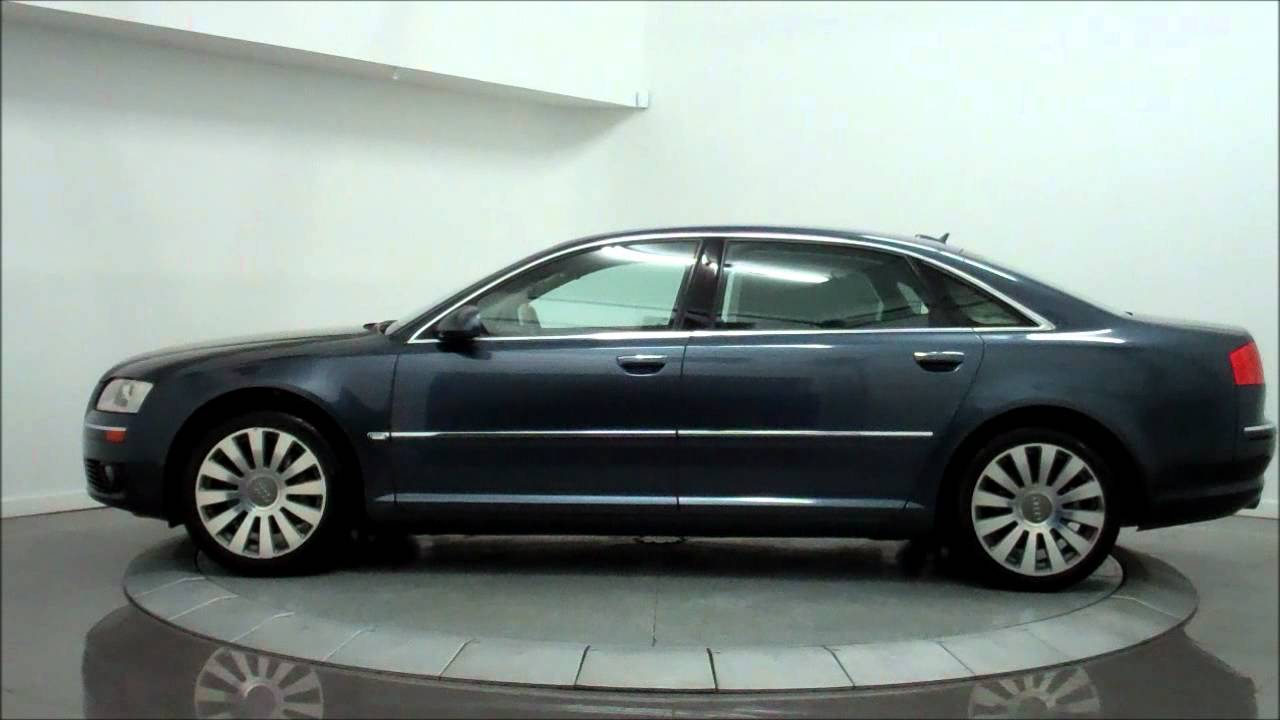 2008 audi a8 l 4 2 quattro youtube. Black Bedroom Furniture Sets. Home Design Ideas