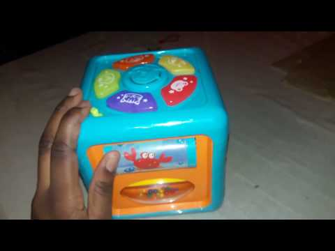 Brilliant Beginners Activity Cube Toy/ Toy Review