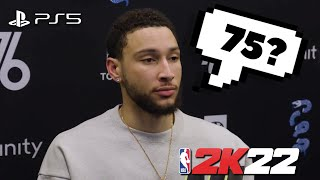 NBA PLAYERS REACT TO THEIR NBA 2K22 RATINGS 😂 ... (ft. Kevin Durant, Trae Young & LeBron James)