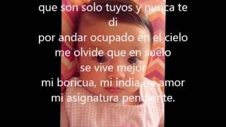 Asignatura Pendiente - Ricardo Arjona (Letra) Arjoneana Betty T.Q.M
