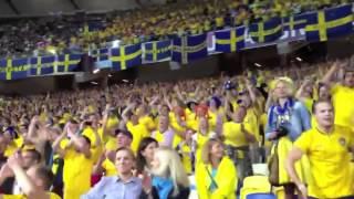 Swedish fans invade Kiev (kyiv)! Euro 2012