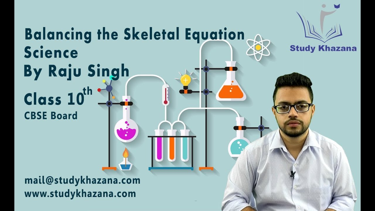 Balancing the Skeletal Equation, Science by Raju Singh image