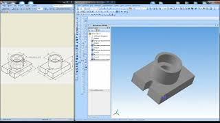Урок #6 │Опора в 3Д. 3D модели деталей. Инженерная графика