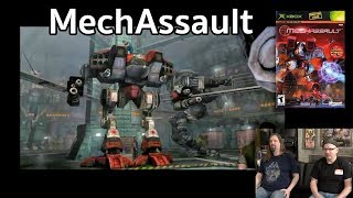 Let's Play MechAssault (2002) on original XBOX w/ Drunken Master Paul