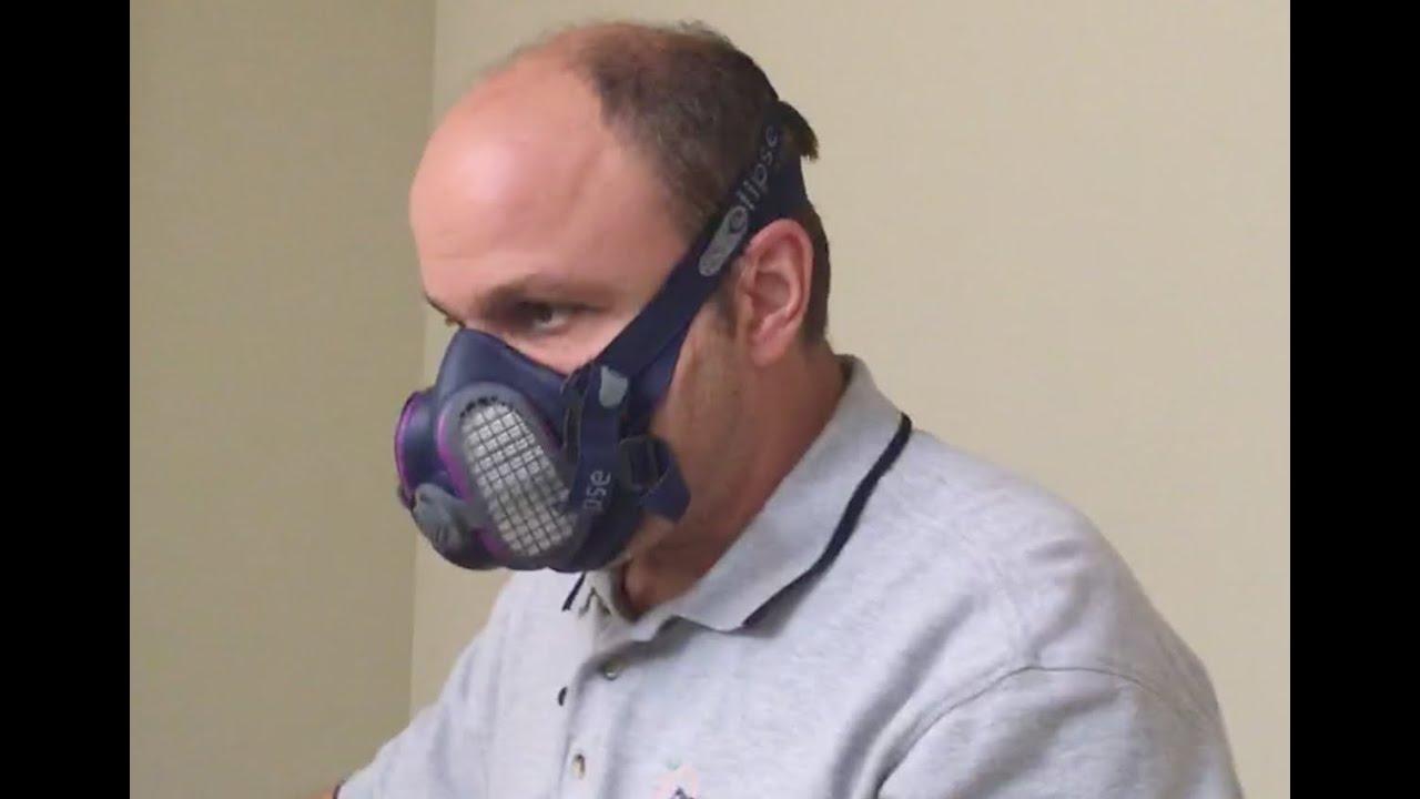 p100 face mask respirator