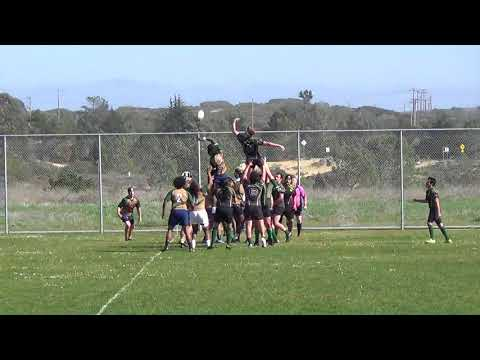CSUMB men vs Humboldt rugby Feb 10, 2018; first half
