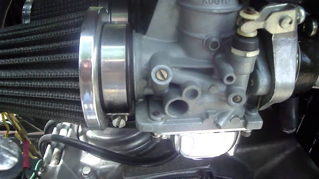 Kz650 Carb Tuning Youtube