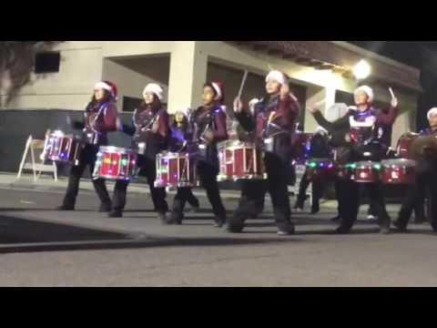 Coachella Valley Parade 2016 Toro Canyon Middle School Drumline