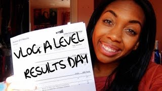 VLOG | A LEVEL RESULTS DAY!
