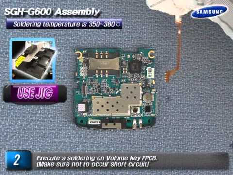 Samsung SGH-G600 Motherboard Assembly
