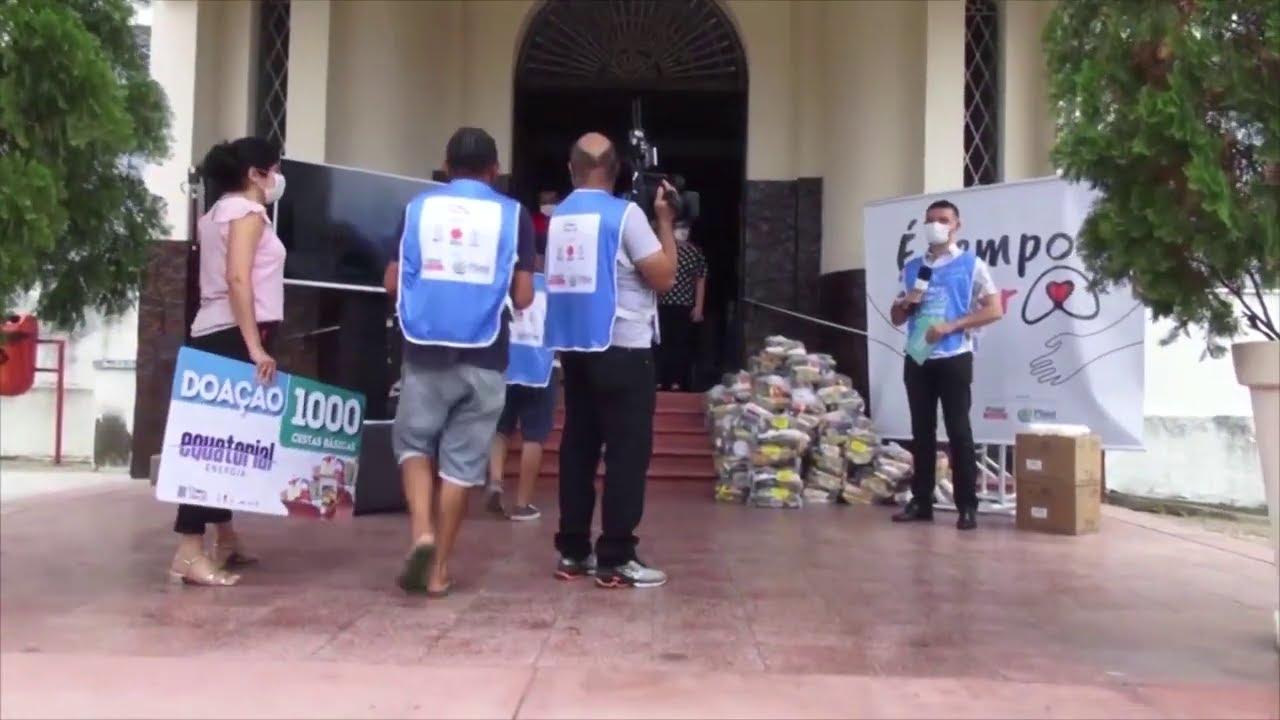 """Ação solidária emergencial agenda o """"Dia de Cuidar"""""""